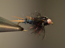 Fly Tying Kit - Midnight Stonefly